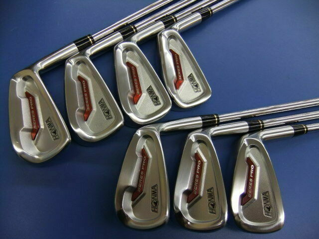 HONMA BERES PRO2 7PC X-FLEX IRONS SET GOLF CLUBS EXCELLENT BERES