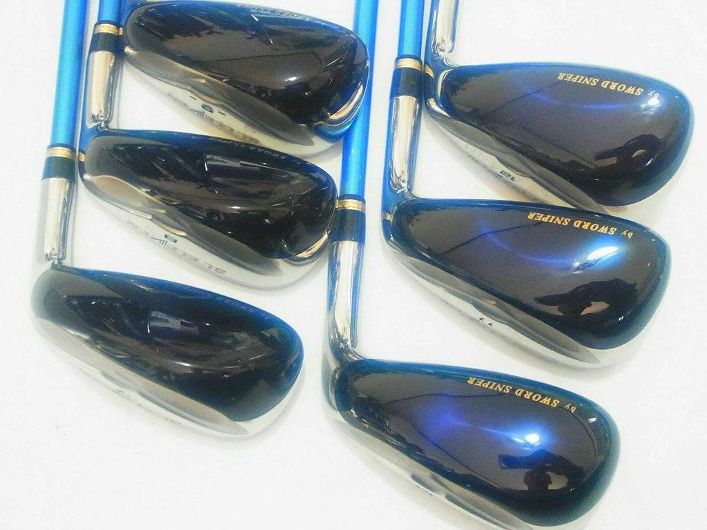 HYBRID IRONS SET KATANA SWORD SL ELEVEN 6PC R-FLEX GOLF CLUBS