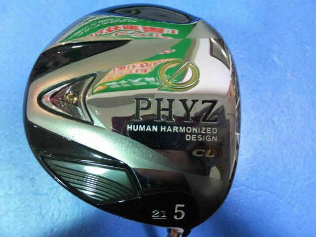 GOLF CLUBS FAIRWAY WOOD BRIDGESTONE PHYZ CL LADIES 2013 5W LOFT-21 L-FLEX