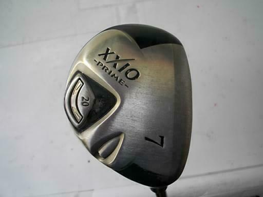 GOLF CLUBS FAIRWAY WOOD DUNLOP XXIO PRIME 2009 7W R2-FLEX