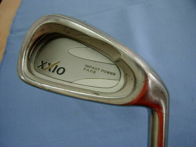 DUNLOP XXIO 8PC STEEL SHAFT R-FLEX CAVITY BACK IRONS SET GOLF CLUBS