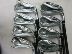 2011 JAPAN MODEL MACGREGOR MACTEC NV 201 8PC SR-FLEX IRONS SET GOLF CLUBS