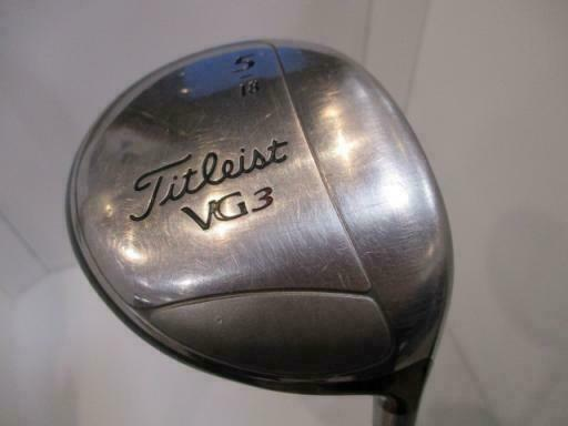 GOLF CLUBS FAIRWAY WOOD TITLEIST VG3 JAPAN MODEL 5W S-FLEX
