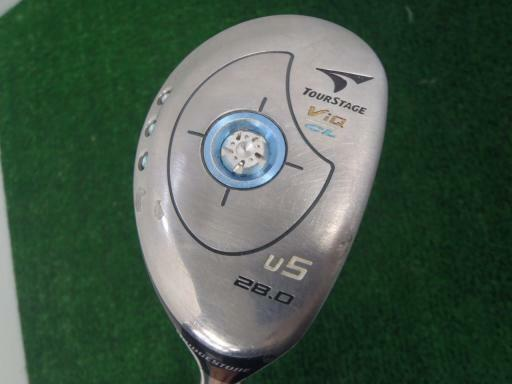 BRIDGESTONE Tour Stage V-iQ CL 2006 ladies U5 L-Flex Utility Hybrid Golf