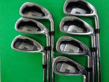 DAIWA GLOBERIDE ONOFF 2010 7PC NSPRO S-FLEX IRONS SET GOLF 10287