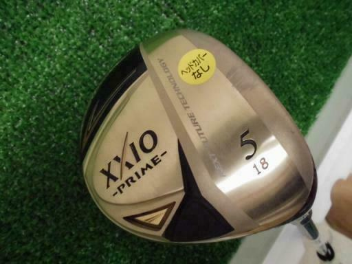 GOLF CLUBS FAIRWAY WOOD DUNLOP XXIO PRIME 2013 5W R-FLEX