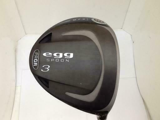 GOLF CLUBS FAIRWAY WOOD 2014 PRGR EGG M.F.D M-43 3W S-FLEX