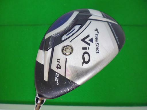 BRIDGESTONE Tour Stage V-iQ 2012 U4 S-Flex Utility Hybrid Golf Clubs