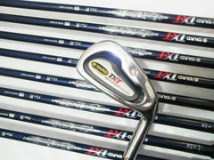 9PC!! SEIKO S-YARD TX-T R-FLEX IRONS SET GOLF CLUBS