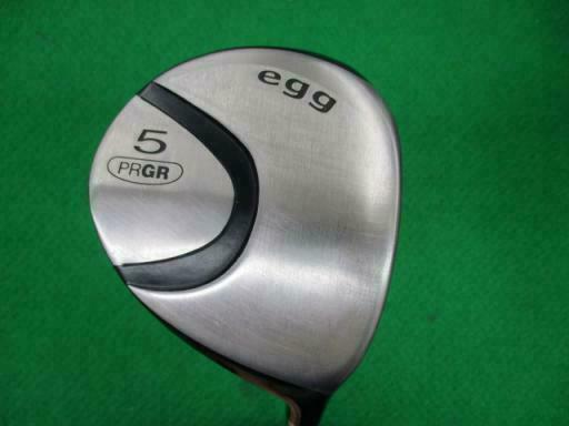 GOLF CLUBS FAIRWAY WOOD PRGR  EGG 2010 M-37 5W R-FLEX