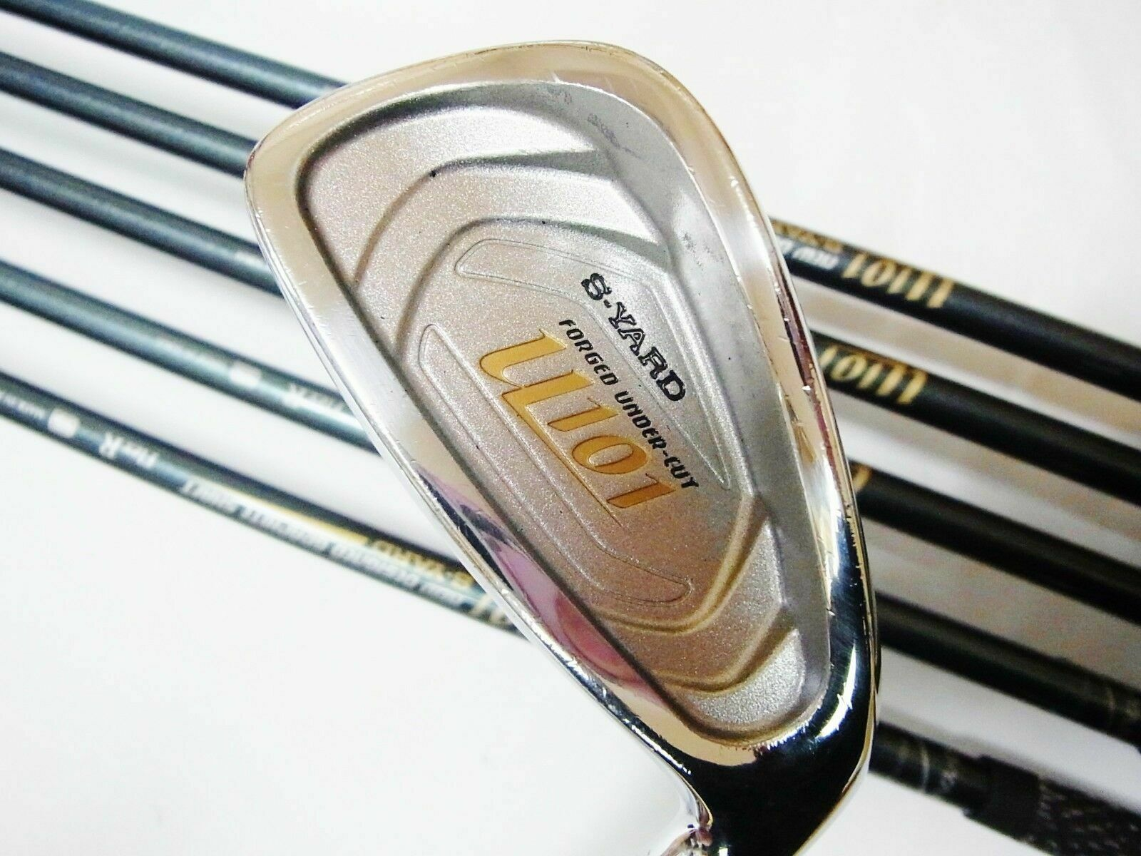 SEIKO S-YARD U101 NEW VERSION 6PC R-FLEX IRONS SET GOLF CLUBS 6287