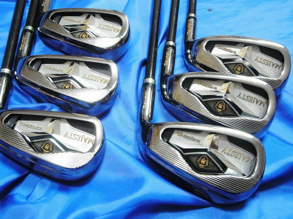 2014MODEL MARUMAN MAJESTY VANQUISH-XR 6PC SR-FLEX IRONS SET GOLF CLUBS 6227