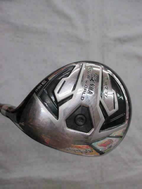 HONMA FAIRWAY WOOD GOLF CLUB TOUR WORLD TW737c A55 2017  3W R-FLEX