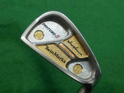 HONMA TWIN MARKS PROTUNE-S 2-STAR 7PC ORIGINAL SHAFT R-FLEX IRONS SET GOLF 10237