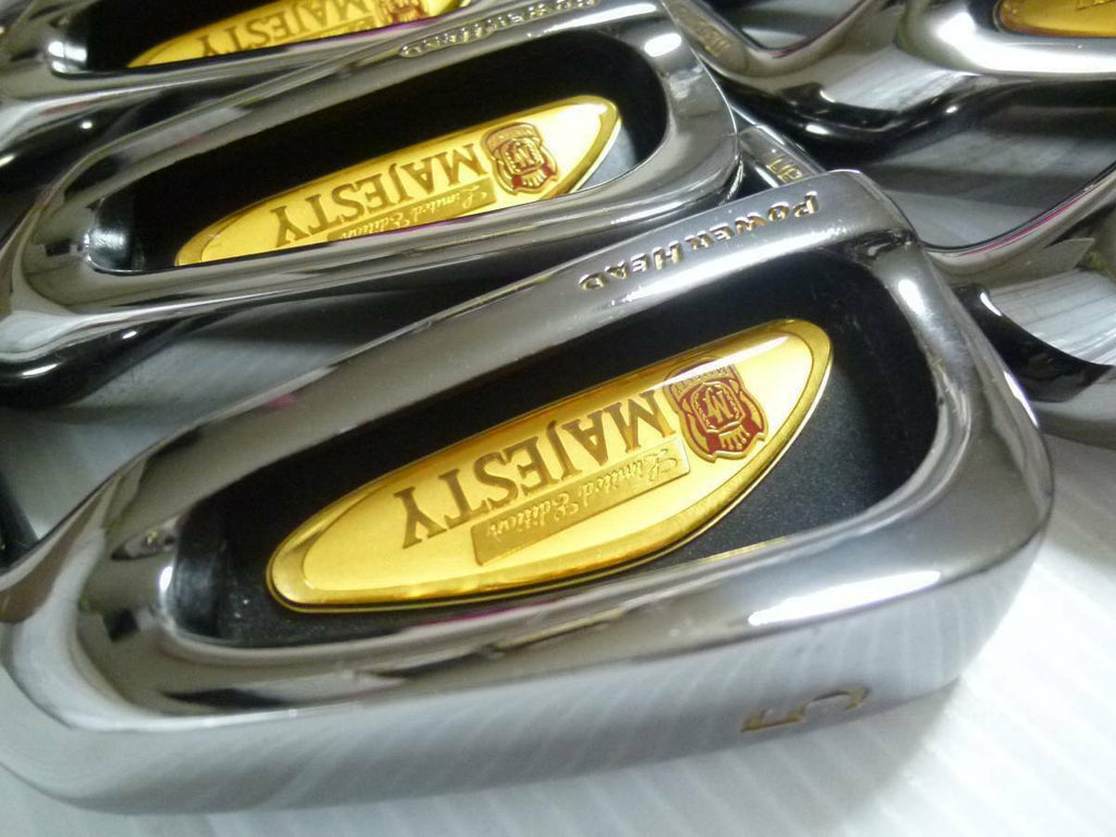 25TH ANNIVERSARY LIMITED MARUMAN MAJESTY 8PC R-FLEX IRONS SET GOLF CLUBS 827