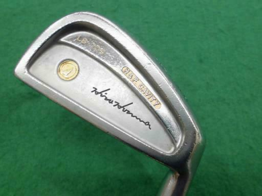 HONMA LB-708 H&F GOLD 2-STAR 10PC ORIGINAL SHAFT R-FLEX IRONS SET GOLF 10247