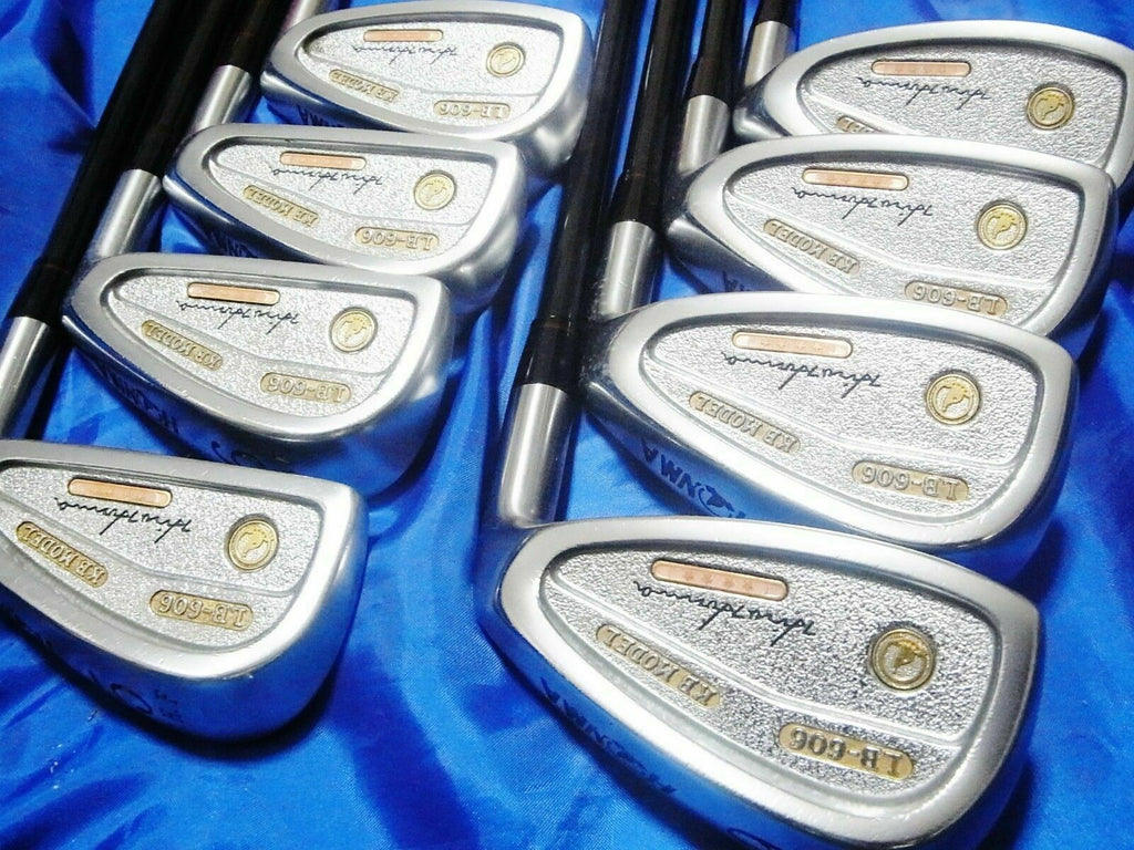 HONMA GOLF CLUB LB-606 KB MODEL 4-STAR GOLD 8PC R-FLEX IRONS SET