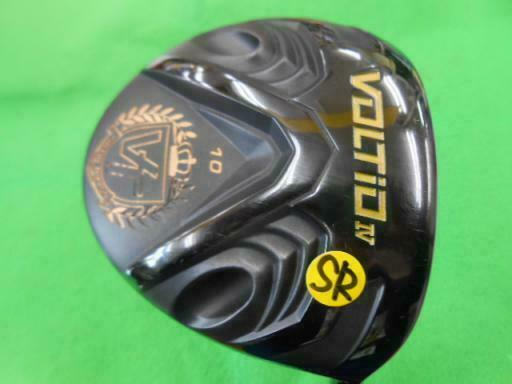 KATANA 2016 GOLF CLUB DRIVER VOLTIO 4 BLACK LOFT-10 SR-FLEX 5137