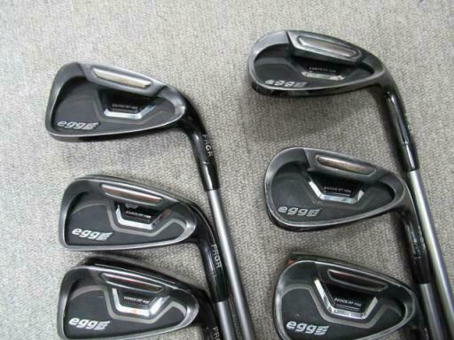 PRGR EGG 2015 6PC EGG S-FLEX IRONS SET GOLF 10277