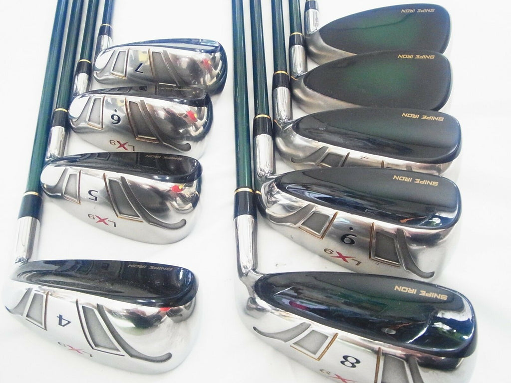 KATANA GOLF CLUBS SNIPE LX9 FOR SENIOR SR-FLEX 9PC HYBRID IRONS SET