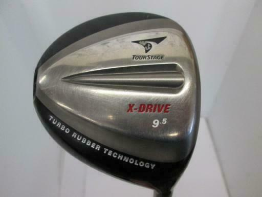 BRIDGESTONE TOUR GOLF CLUB DRIVER STAGE X-DRIVE 340 9.5 S-FLEX VIQ