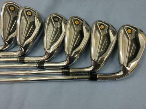 TAYLOR MADE FIRST GLOIRE JP MODEL 6PC NSPRO R-FLEX IRONS SET GOLF 10187