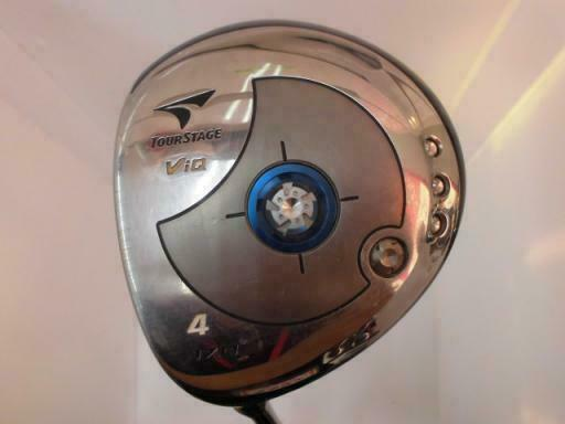 GOLF CLUBS FAIRWAY WOOD BRIDGESTONE TOUR STAGE V-IQ 2006 4W LEFT-HANDED R-FLEX