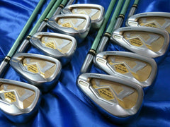GOLF CLUBS HONMA IRONS SET BERES IS-03 2-star 9pc R-Flex