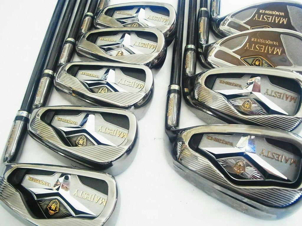 2014MODEL MARUMAN MAJESTY VANQUISH-XR 9PC SR-FLEX IRONS SET GOLF CLUBS MAJESTY