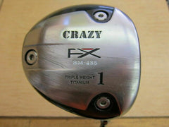 CRAZY CRZ-425 GOLF CLUB DRIVER LOFT-10 S-FLEX 9207