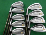 HONMA NEW-LB280 GOLD 4-STAR  9PC ORIGINAL SHAFT R-FLEX IRONS SET GOLF 10247