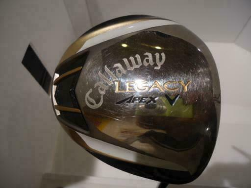 2012 CALLAWAY GOLF CLUB DRIVER LEGACY APEX 9.5DEG S-FLEX
