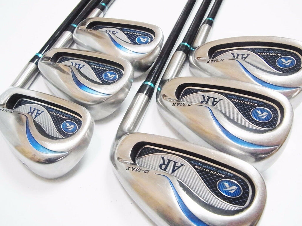 KASCO GOLF CLUBS D-MAX AR 2012MODEL 6PC R-FLEX IRONS SET