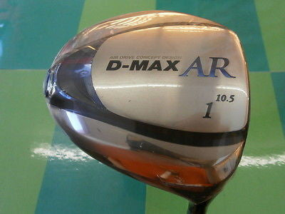 NEW 2012model KASCO D-MAX AR Loft-10.5 R-flex Driver 1W Golf Clubs