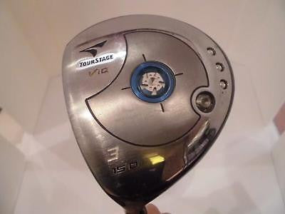 BRIDGESTONE Tour Stage V-iQ 2006 Left-Handed 3W R-Flex Fairway Wood Golf