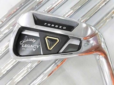 2013 CALLAWAY Legacy Black 7pc 4-P Dynamic Gold S-flex IRONS SET Golf Clubs
