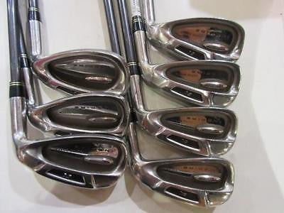 KASCO Power Tornado INSPIRE 7pc R-flex IRONS SET Golf Clubs