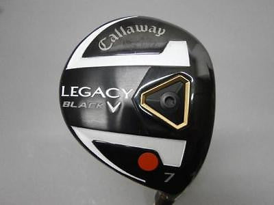 CALLAWAY LEGACY BLACK 2013 7W Loft-21 R-flex Fairway wood Golf Clubs