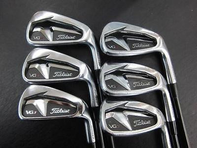 TITLEIST Japane Limited Model VG3 6pc Motore shaft S-flex IRONS SET Golf Clubs