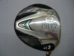 BRIDGESTONE PHYZ 2013  #3 3W Loft-15 R-flex Fairway wood Golf Clubs