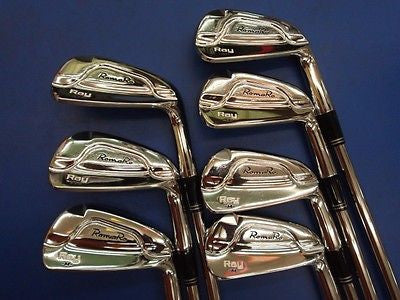 ROMARO Ray M 7pc S-flex CAVITY BACK IRONS SET Golf Clubs Excellent