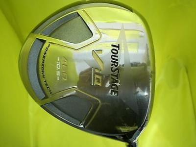 BRIDGESTONE Tour Stage V-iQ 2008 10.5 R-Flex DRIVER 1W ViQ Golf Clubs
