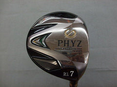 BRIDGESTONE PHYZ 2013  #7 7W Loft-21 R-flex Fairway wood Golf Clubs