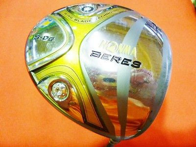 SR-FLEX HONMA 2012model BERES S-02 2STAR 9deg DRIVER 1W Golf Clubs