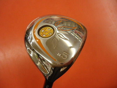 MARUMAN Conductor FINO Ladies Womens #5 5W Loft-24 L-flex Fairway wood Golf Club
