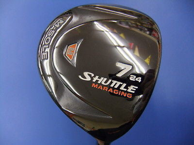 MARUMAN Shuttle M-sole Ladies Womens #7 7W Loft-24 L-flex Fairway wood Golf Club