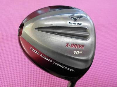 BRIDGESTONE Tour Stage X-DRIVE 435 9.5 SR-Flex DRIVER 1W ViQ Golf Clubs