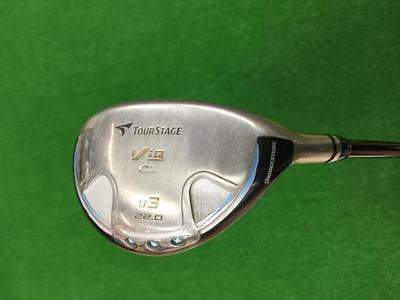 BRIDGESTONE Tour Stage V-iQ CL 2008 Blue Ladies U3 A-Flex Utility Golf