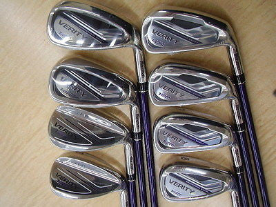 NEW MARUMAN VERITY VGR 8pc R-flex IRONS SET Golf Clubs
