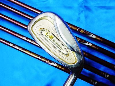 SEIKO S-YARD C-Ⅲ C-3 6pc R-flex IRONS SET Golf Clubs in